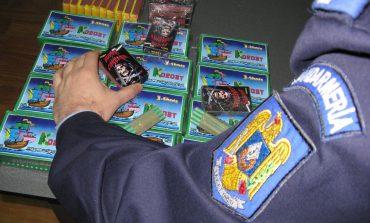 Fără artificii, petarde și alte materiale pirotehnice. IPJ Alba controlează agenții economici din piețe, târguri și centre comerciale