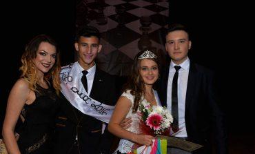 FOTO: Mihaela Ștefan și Andrei Pascu au fos desemnați Miss și Mister Boboc ai Liceului Tehnologic Sebeș
