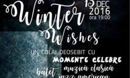 """13 decembrie: """"Winter Wishis"""", la Alba Iulia. Gală extraordinară de balet, operă şi piese din musicaluri americane celebre, la Casa de Cultură a Sindicatelor"""