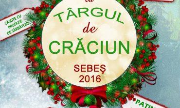 Spectacole, cadouri de la Moș Crăciun, patinoar și căsuțe cu produse de sezon, la Târgul de Crăciun din Sebeș