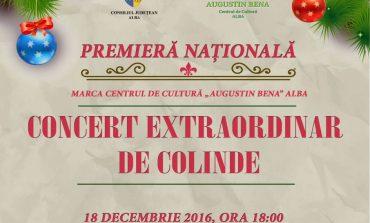 ASTĂZI: Concert extraordinar de colinde cu aproape 100 de artişti, la Casa de Cultură a Sindicatelor din Alba Iulia şi Târgul de Crăciun al Meşterilor Populari
