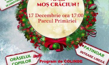 SÂMBĂTĂ: Concerte de colinde și cadouri de la Moș Crăciun pentru cei mici, în Parcul de Iarnă din Sebeş