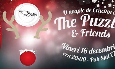 """16 DECEMBRIE: """"O noapte de Crăciun cu The Puzzles&Friends"""", la Pub Skit'77"""