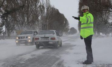 IPJ Alba: Recomandări pentru circulaţia rutieră în condiţii de iarnă