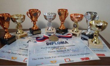 """Premii importante pentru Colegiul Economic """"Dionisie Pop Marțian"""" din Alba Iulia,, la Târgul Internațional al Firmelor de Exercițiu din Cehia"""