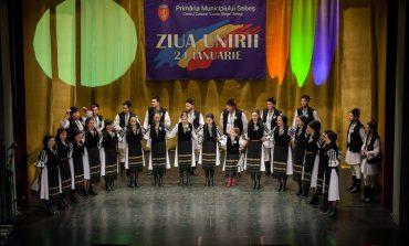 FOTO: Mica Unire, sărbătorită la Sebeș cu un spectacol folcloric