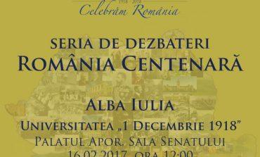 """JOI: A patra serie de dezbateri privind încheierea unui parteneriat pentru Centenarul Marii Uniri, la Universitatea """"1 Decembrie 1918"""" din Alba Iulia"""