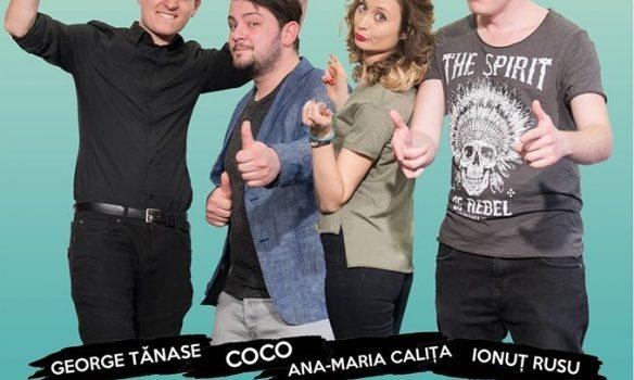 VINERI: IUmor se mută în Pub Skit'77. O doză sănătoasă de râs cu Ionuț Rusu, Ana-Maria Caliţă, George Tănase şi Coco Marinescu