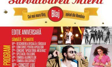"""În weekend, Blajul devine """"oraşul dulce"""", la """"Sărbătoarea Mierii"""" 2017. Concerte live şi multe surprize, la ediţia aniversară"""