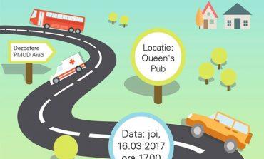 JOI: Cafenea publică organizată de Primăria Aiud pentru Planul Urban de Mobilitate Durabilă