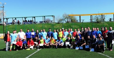 """FOTO: Ziua Jandarmeriei Române, la Alba Iulia. Turneu de fotbal, la Baza Sportivă """"Winner`s Club Ţălnar"""""""