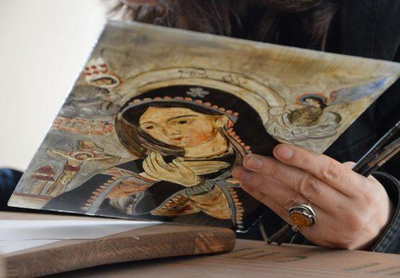 FOTO: Atelier de pictură şi tipografic în cadrul complexului muzeal Museikon