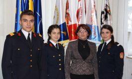 """FOTO: Performanţe noi pentru elevi de la Colegiul Naţional Militar """"Mihai Viteazul"""" din Alba Iulia, la olimpiadele şcolare"""