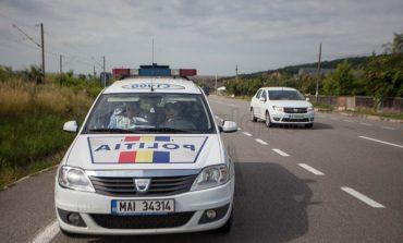 Accident mortal lângă Cugir: Un bărbat de 69 de ani şi-a pierdut viaţa după ce s-a răsturnat cu mașina într-o râpă
