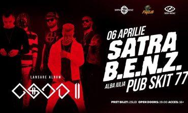 JOI: Lansare ŞATRA BENZ - OSOD 2, în Pub Skit'77 din Alba Iulia