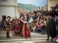 În weekend: Reprezentaţie a Gărzii Apulum în faţa Porţii IV a Cetăţii şi tabără antică
