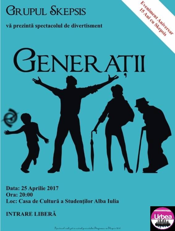 15 ani de existenţă, cu Grupul Skepsis. Două spectacole de teatru, la Casa de Cultură a Studenților din Alba Iulia