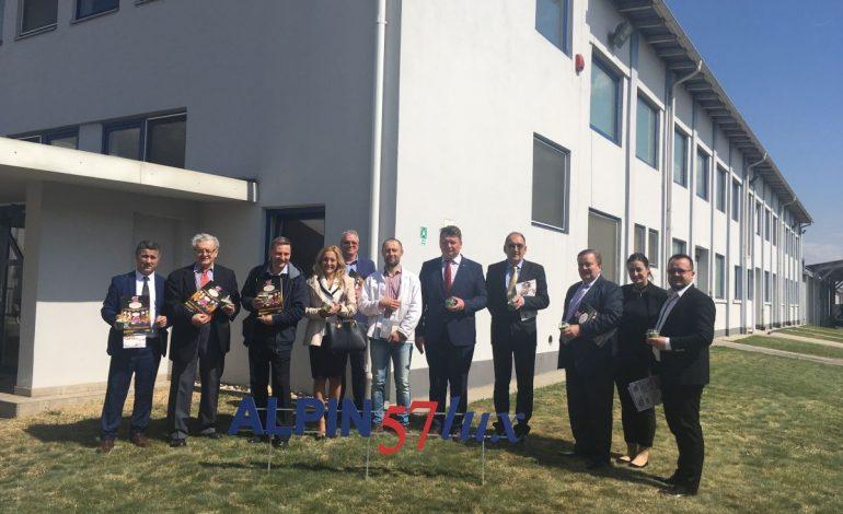 FOTO: Delegație din Polonia și Cehia, în vizită la Primăria Municipiului Sebeș și la agenți economici