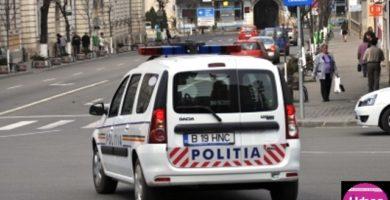 Accident rutier în Alba Iulia: Două persoane au fost rănite după ce o maşină şi o motocicletă s-au lovit