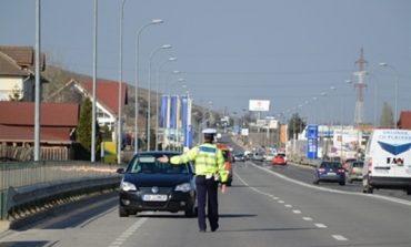 Acţiune a IPJ Alba de Paşte: Amenzi de peste 60.000 de lei date de polițiști şi şapte permise de conducere reţinute