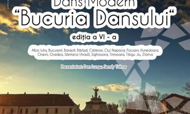 """8 APRILIE: A VI-a ediţie a Concursului Naţional de Dans Modern """"Bucuria Dansului"""", la Alba Iulia"""