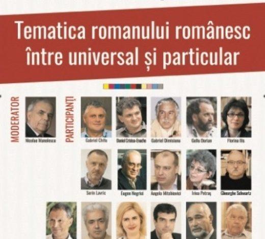 MIERCURI: Colocviul Romanului Românesc Contemporan, ediția a X-a, la UAB