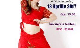 ASTĂZI: Primul workshop de Bollywood Dance la Alba Iulia, cu Irina Călugăr