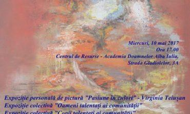 """10 MAI: Oameni talentaţi ai comunităţii, ediţia a III-a, la Centru de Resurse """"Academia Doamnelor"""" Alba Iulia"""