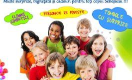 1 IUNIE: Sărbătoarea Copilăriei, la Sebeş. O veritabilă caravană a bucuriei, cu îngheţată, premii şi surprize pentru toţi copiii, în 3 puncte ale oraşului