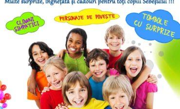 1 IUNIE: Sărbătoarea Copilăriei, la Sebeş. O veritabilă caravană a bucuriei, cu îngheţată, premii şi surprize pentru toţi copiii. Restricţii de circulaţie în zonă