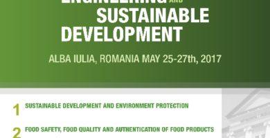 25-27 mai: Conferință internaţională pe teme de ingineria mediului şi dezvoltare durabilă, la UAB