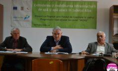 """VIDEO: Finalizarea proiectului """"Extinderea şi reabilitarea infrastructurii de apă şi apă uzată în judeţul Alba"""". Detalii de la reprezentanţii instituţiei despre lucrări"""