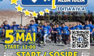 Vineri: Crosul Europei, la Alba Iulia. 400 de persoane sunt aşteptate la linia de start
