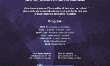 """11 MAI:  """"Noaptea lungă a industriei"""" la Star Transmission şi Star Assembly. Programul evenimentului"""