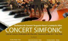 """Duminică: Provocare muzicală pentru albaiulienii: Simfonia a V-a """"Destinul"""" de Beethoven pusă în scenă pentru prima dată la Alba Iulia"""