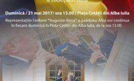 Albaiulienii şi turiştii care vizitează Cealaltă Capitală, invitaţi duminică la un nou recital de fanfară