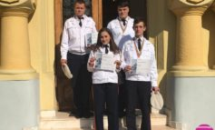 """FOTO: Patru elevi ai Colegiului Naţional Militar ,,Mihai Viteazul"""", printre premiaţii concursului judeţean de matematică ,,Mircea Ganga"""""""