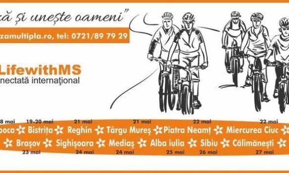 JOI: Ștafeta Ciclistă SM 2017 în Alba Iulia. Tur simbolic pe biciclete în Piaţa Cetăţii