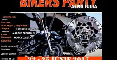 23 – 25 iunie: Bikers Party 2017, la Alba Iulia. Programul festivalului motocicliştilor de anul acesta
