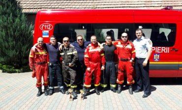 FOTO: Echipa ISU Alba s-a clasat pe primele locuri la etapa zonală a competiţiei naţionale de descarcerare şi prim ajutor calificat de la Arad