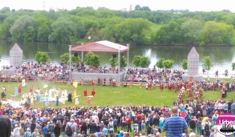 FOTO-VIDEO: Garda Apulum, la Festivalul Times & Epochs, de la Moscova, în perioada 7-12 iunie