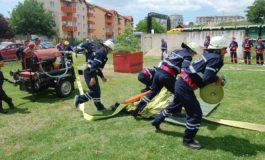 FOTO: SVSU Stremț a câştigat etapa judeţeană Alba a concursurilor profesionale ale serviciilor voluntare pentru situaţii de urgenţă