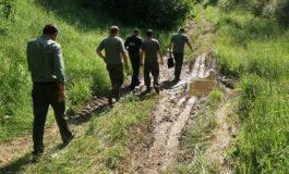 FOTO: 5,7 metri cubi de material lemnos, confiscaţi de poliţiştii din Apuseni