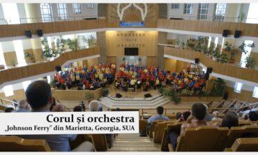 """Concertul corului și al orchestrei """"Johnson Ferry"""" din Marietta, reprogramat pentru MARŢI, din cauza condiţiilor meteo nefavorabile"""
