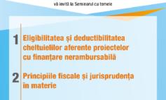 VINERI: Seminar organizat de Camera Auditorilor Financiari din România, la UAB