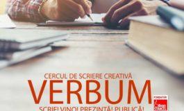 """Joi: Biblioteca Județeană ,,Lucian Blaga"""" Alba deschide cercul de scriere creativă """"Verbum"""""""