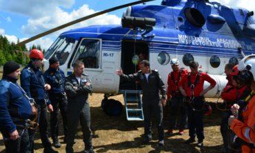 FOTO: Misiune de antrenament pentru jandarmii din Alba, în Munții Șureanu