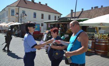 """FOTO: """"Protejează-ți locuința! Ai grijă de bunurile tale!"""", campanie pentru prevenirea furturilor din locuințe, derulată de IPJ Alba"""