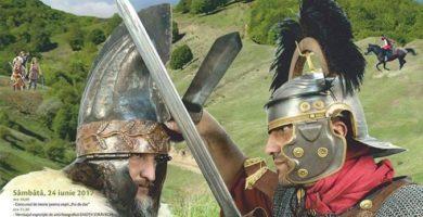 """În weekend: Festivalul Cetăţilor Dacice, la Săsciori. Lupte între daci şi romani, întreceri dacice, tabere antice sau un extraordinar concert TALISMAN – ingrediente pentru a petrece două zile """"ca pe vremea dacilor"""""""