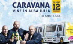 """Vineri şi Sâmbătă: Caravana """"EU SUNT 12"""" ajunge la Alba Iulia. Bar de gheaţă, show-uri multimedia şi alte surprize, în Cetatea Alba Carolina"""